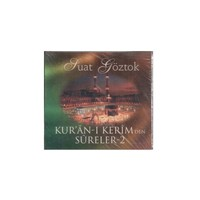 NTP Suat Göztok Kur'an-I Kerim'den Sureler 2 Audio CD