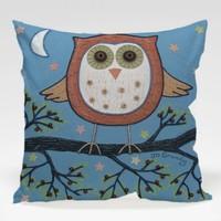 Dekorjinal Baykuş Yastık Kılıfı OWL088