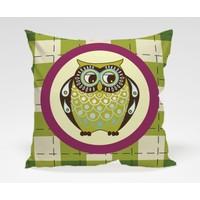 Dekorjinal Baykuş Yastık Kılıfı OWL062