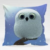 Dekorjinal Baykuş Yastık Kılıfı OWL049