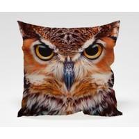 Dekorjinal Baykuş Yastık Kılıfı OWL007