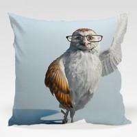 Dekorjinal Baykuş Yastık Kılıfı OWL092