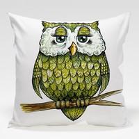 Dekorjinal Baykuş Yastık Kılıfı OWL089