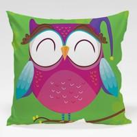 Dekorjinal Baykuş Yastık Kılıfı OWL045