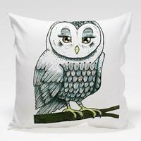 Dekorjinal Baykuş Yastık Kılıfı OWL090