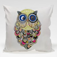 Dekorjinal Baykuş Yastık Kılıfı OWL054