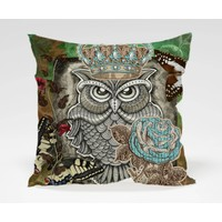 Dekorjinal Baykuş Yastık Kılıfı OWL009