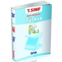 Zirve Yayınları 7.Sınıf Türkçe Konu Anlatımlı
