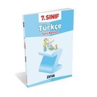 Zirve Yayınları 7. Sınıf Türkçe Soru Bankası