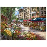 Anatolian 1000 Parça Puzzle Paris Çiçek Pazarı