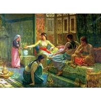 Anatolian 1000 Parça Puzzle Haremde Yaşam