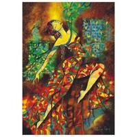 Anatolian 500 Parça Puzzle Renklerle Dans