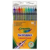 Crayola Çevrilebilen Kuru Boya Kalemi 10 Adet