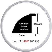 Educa Heidi Daire Çerçeve Beyaz 3cm 4995