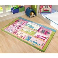 Confetti Kids Rug- Game House (100x160cm)