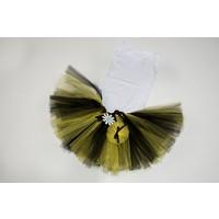McBaby Tütü Etek+Saçbandı Bağlama Sarı/Siyah