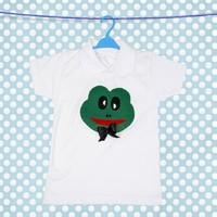 McBaby Tişört Tasarım Yeşil Kurbağa Erkek