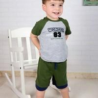 Wonder Kids Camp Şortlu Bebek Takım 2li