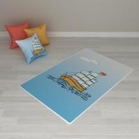 Erenev 8252 80x120 Yelkenli Desenli Halı