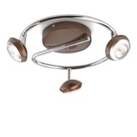 Philips Sepıa Plate/Spiral Led Brown 3X4W Selv