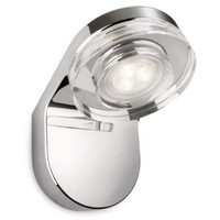 Philips Mira Wall Lamp Led Chrome 1X7.5W Selv