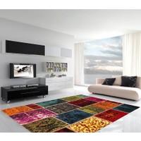 Merinos Palet Patchwork pt014-110 Halı 160x230 cm