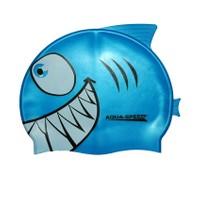 Swım Cap Shark Yüzücü Bone