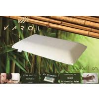 Varol Bambu Yastık Kılıflı Visco Yastık Horlama Yastığı