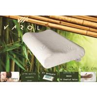 Varol Bambu Yastık Kılıflı Visco Yastık Orta Boy