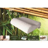 Varol Bambu Yastık Kılıflı Visco Yastık Küçük Boy