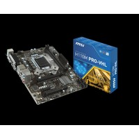MSI H110M PRO-VHL Intel H110 2133MHz DDR4 Soket 1151 mATX Anakart