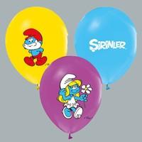 Tahtakale Toptancısı Balon 4+1 Şirinler Baskılı Karışık (20 Adet)