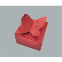 Tahtakale Toptancısı Kına Kelebekli Model Karton (100 Adet)