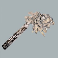 Tahtakale Toptancısı Konfeti Metalize Gümüş 40 Cm