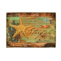 Gravel Deniz Yıldızı Desenli Amerikan Servisi