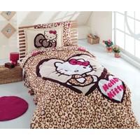 Hello Kitty Leopar Tek Kişilik Uyku Seti