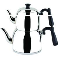 Özkent 370 Menekşe Mini Çaydanlık Siyah