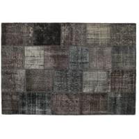 MarkaEv Patchwork Halı Siyah - 160x230 cm