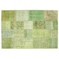 MarkaEv Patchwork Halı Yeşil - 160x230 cm