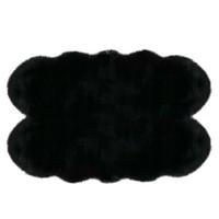 MarkaEv Siyah Post Peluş - 145x200 cm