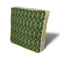 Gravel Çok Amaçlı Yastık Minder - Yeşil Krem