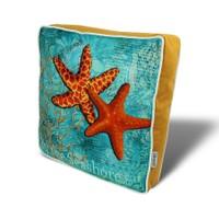 Gravel Deniz Yıldızı Temalı Amaçlı Yastık - Minder