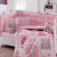 Cotton Box Bebek Uyku Seti Mini Pembe