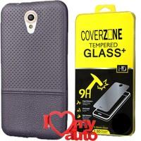 CoverZone Vodafone Smart Style 7 Kılıf Lacivert + + 3d Araç Kokusu