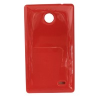 CoverZone Nokia X Kılıf Silikon Kırmızı