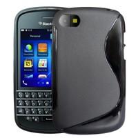 CoverZone BlackBerry Q5 Kılıf Silikon Siyah