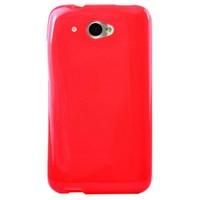 CoverZone HTC Desire 601 Kılıf Silikon Flexible Kırmızı
