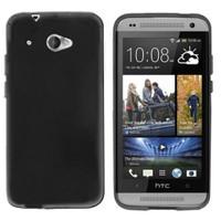 CoverZone HTC Desire 601 Kılıf Silikon Flexible Füme