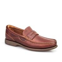 Cabani Kemerli Günlük Erkek Ayakkabı Taba Deri
