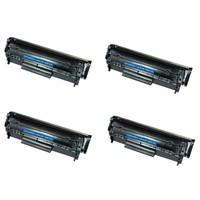 Neon Canon İ Sensys Lbp3100 Toner 4'lü Ekonomik Paket Muadil Yazıcı Kartuş